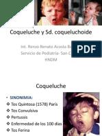 Coqueluche y Sd