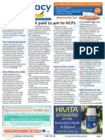 Pharmacy Daily for Mon 12 May 2014 - GSK paid $2.4m to HCPs, Update diabetes guidelines, 6.8% meet vege recs, Hydroxyzine review and much more