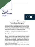 Breaking Down Organizational Barriers
