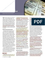 Quantitative Easing - Lessons We'Ve Learned