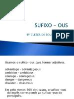 sufixo -ous