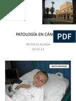 patologia en cancer