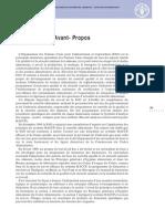 Systèmes de Qualité Et de Sécurité Sanitaire Des Aliments FAO