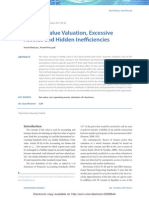 DCF Fair Value Valuation, Excessive Assets and Hidden Inefficiencies