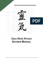 Usui Reiki Ryoho Level 1 Manual