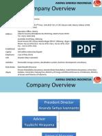 Awina Company Overview 20140507