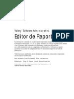 Editor de Reportes