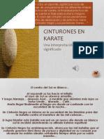 Significado de Cinturones en Karate