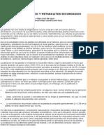 Análisis Fitoquimico y Metabolitos Secundarios