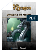 Old Dragon  - Fast Play Test - Divisória do Mestre