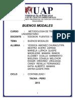 Buenos Modales Grupo 2.......