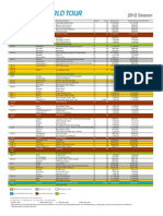 Calendar i o 2012 at p Color