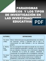 Paradigma Tipo Investigacion