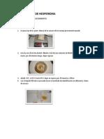 Determinación de Hesperidina de La Naranja