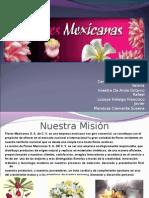 Presentación Flores Mexicanas