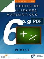 Problemario de Matematicas Competencia Cotorra 2013 Sexto Grado A