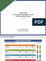 October 2009 Harrisonburg & Rockingham County Real Estate Market Report