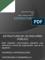 Discurso Público - Estructura