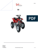 X300 National Extreme 300cc Atv (VIN PREFIX RKKE) Parts Manual
