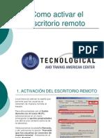 Control Acceso Remoto XP