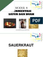 Modul 4. Fermentasi Sayur Dan Buah