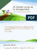 El Modelo Social de La Discapacidad