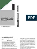 Minolta Maxxum Flash 5600HS(D) Manual