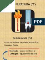 Aula 4.2 Temperatura
