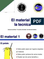Lecciones de Materiales SAE V2 RESCATE
