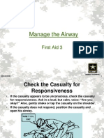 First Aid 3 (Manage the Airway) 805-B-20xx Ver X Slides