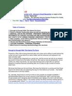 Swine Flu Vaccination Alert (Nov 08 2009)