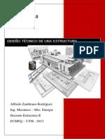 diseño tecnico estructura