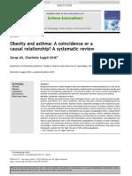 Asma y Obesidad Revision Sistematica