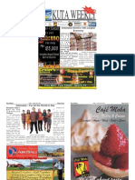 "Kuta Weekly-Edition 387 ""Bali""s Premier Weekly Newspaper"""
