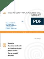 Uso Abuso Peligros de Internet (Colegio Clemente Althaus)