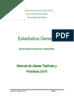 Libro Estadistica Para Agronomia