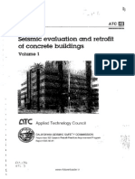 ATC-40 Seismic Evaluation and Retrofit of Concrete Buildings