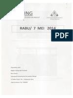 Scan Kliping Berita Perumahan Rakyat, 7 Mei 2014
