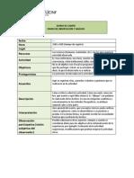 Diario de Campo Definición