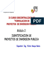 Modulo 2 Identificacion de Proyectos