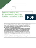 Correlacion-Analisis y Coeficiente