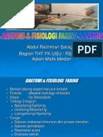 Anatomi & Fisiologi Faring & Laring