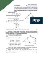 Algebra Vectorial Sintética