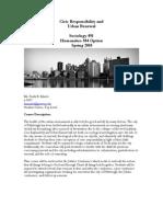 Civic Responsibility and Urban Renewal