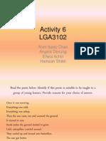 Activity 6 LGA 3102