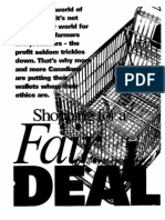 Macadam 2000 Shopping for a Fair Deal