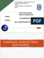 Líneas Terminales Coaxiales, Guías de Onda, (1)