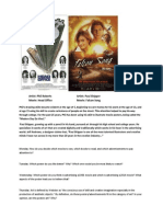 movie poster journal