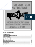 Divestment Program