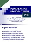 2010 Pemanfaatan Mikroba Tanah